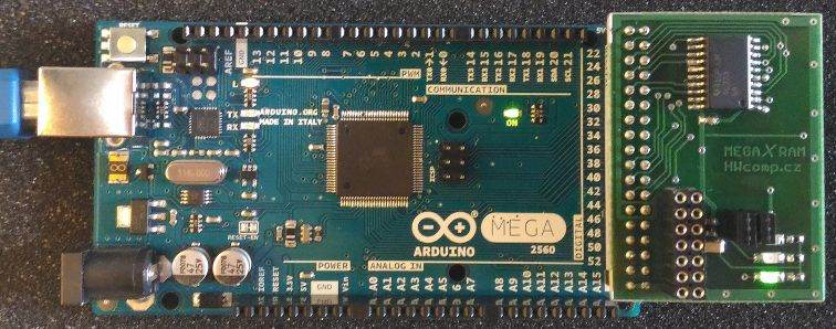 Připojený modul megaXram